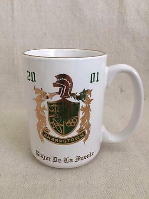 "5"" -  ""Roger De La Fuente"" Sharpstown 2001 Winner's Edge Senior Mug NIB"