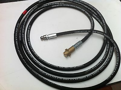Heavy Duty Karcher K Series Bayonet Fitting Pressure Washer Drain Cleaning Hose