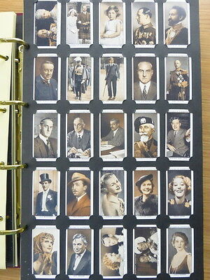 *8* Card Collectors Society FULL Reproduction Set   *A GALLERY OF 1935*  1936