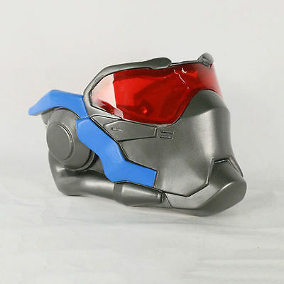 Rye Pioneer OW Overwatch Soldier 76 Mask Costume Cosplay PVC Props Gift