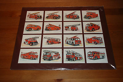 Fire Brigade Memorabilia Collectors Cards