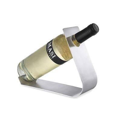 Zack 20560 DACCIO wine bottle holder l.7.9 / h. 7.1 inch Stainless Steel