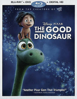 The Good Dinosaur (2015) Blu-ray WITH OUTER SLIP COVER LIKE NEW (NO DIGITAL HD)