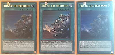 3 X Ldk2-Eny02 Ties Of The Brethren Ultra Rare 1St Ed Mint Playset
