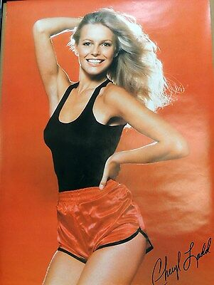 Cheryl Ladd Charlie's Angels Tank Top Satin Shorts Poster 1977 Pro Arts