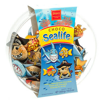NEW Storz Sealife Milk Chocolates 300g