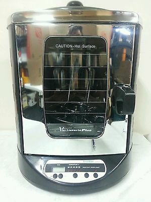 Franklin Chef Vertisserie Plus Rotisserie Oven With Top Warmer