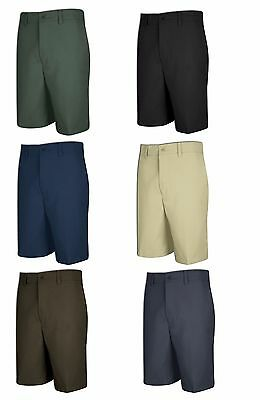 New Irregular Red Kap Men Work Uniform DuraKap Plain Front Shorts - Many Colors