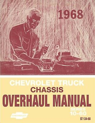 1968 Chevrolet Truck Chassis Overhaul Manual