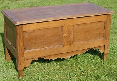 A Stunning Antique French Oak Louis Style Trunk, Box, Chest, Coffer