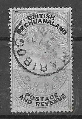Bechuanaland 1888 5 Pound with Maribogo cancellation very fine used
