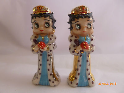 Wade Betty Boop Whimsies Jubilee Gold And Silver Gown Le 50 Sets