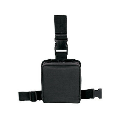 Voodoo Tactical 20-002001000 Black Drop Leg First Aid Pouch