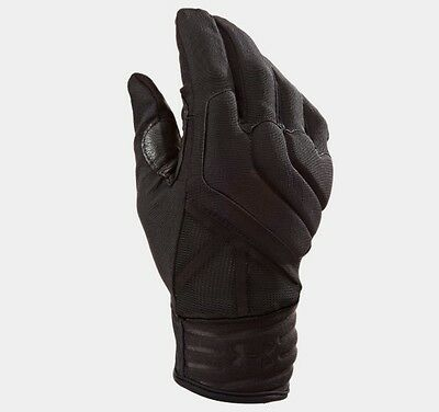 Under Armour 1242620 Men's Black UA Tactical Padded Knuckles Duty Gloves