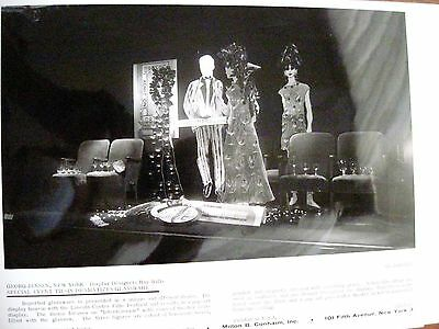 Vintage Photograph by Georg Jensen, NY of Pop Art Display by Ray Wills *