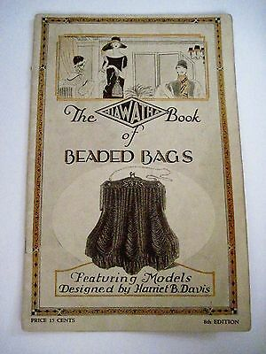 "Vintage RARE 1925 "" The Hiawatha Book of Beaded Bags""  w/ Instructions *"
