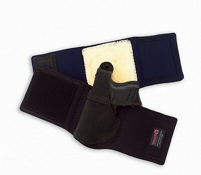 Galco AL287B Ankle Lite Holster For Glock 26 LH