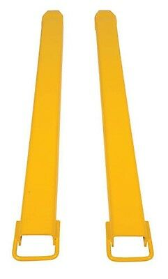 Forklift Fork Extension 6 x 96- Pair NON-SLIP ATTACHMENT FREE SHIPPING
