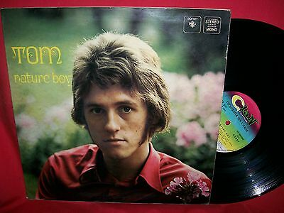 TOM (TOMMY KORBERG & THE MANIACS) Nature boy LP 1968 ITALY EX Clan Celentano