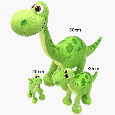 "The Good Dinosaur Movie Arlo Green 8"" 12"" 20"" Soft Toy Plush Doll NLGS"