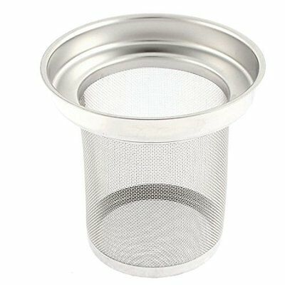 sourcingmap® Stainless Steel Mesh Filter Loose Leaf Spice Ball Tea Infuser