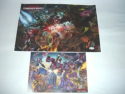 Sdcc 2016 Transformers Promo Posters Combiner Wars Earth Wars Promo Bag