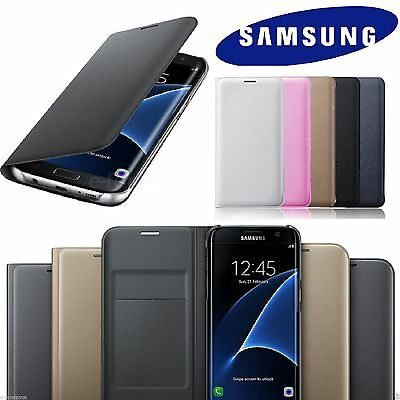 Luxury Real Leather Flip Case Wallet Cover For Samsung Galaxy S10 S9 S8 Plus +