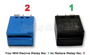 297-BMW (2004-2015) Silent Blue Relay 61366918816 Windscreen Wipers 61316919113