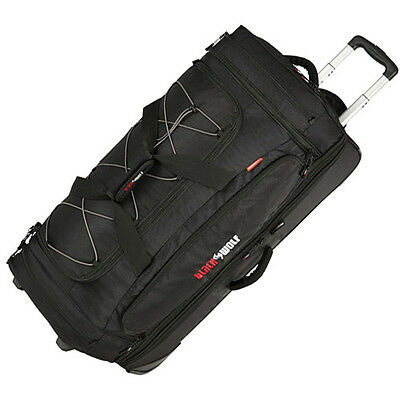 BLACK WOLF BLADERUNNER 150 LITRE Roller Duffle Trolley Wheeled Bag Luggage