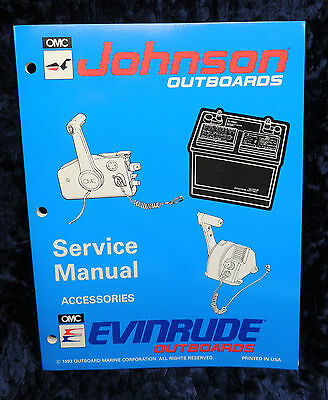 1994 Johnson Evenrude Service Repair Manual Accessories