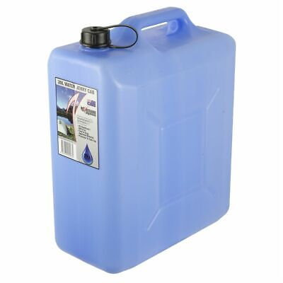 Icon Plastics WATER JERRY CAN UV Stabilized, BLUE, BPA Free*AUS Made - 5L Or 20L
