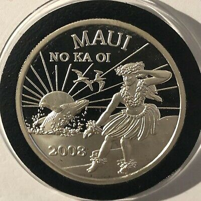 1985 Liberty Mint Statue Of Liberty 1 Troy Ounce .999 Fine Silver Coin Round 999