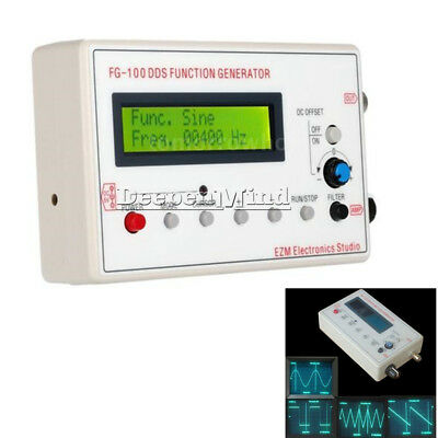 1HZ-500KHz DDS Function Signal Generator Sine Square Triangle Wave Frequency