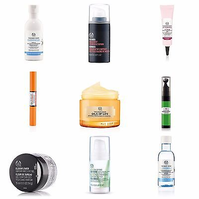 Body Shop EYE Care - Specially Designed Eye Creams For Ultimate Protection