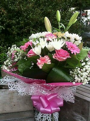 Fresh Seasonal Fresh Flower Bouquet. Great Gift. Birthday.Next Day Delivery