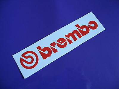 BREMBO brakes sticker/decal x2