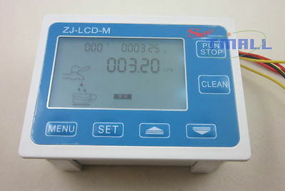 Digital LCD Water Flow Sensor Digital Display meter Gauge Quantitative Control