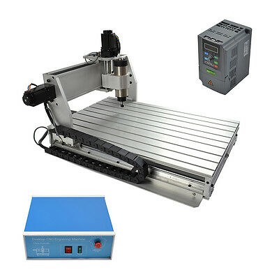 6040 Cnc Router Engraver Milling Machine Engraving Drilling 3 Axis Desktop New