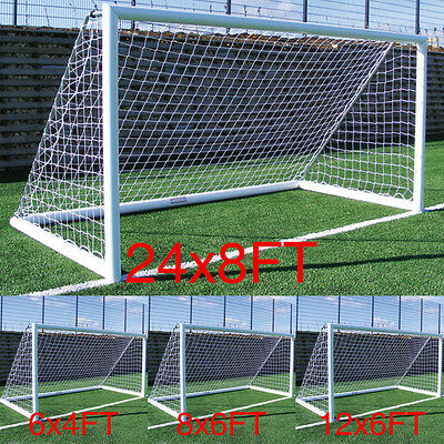 S/M/L/XL Size Football Soccer Goal Post Nets For Sports Training Match Replace