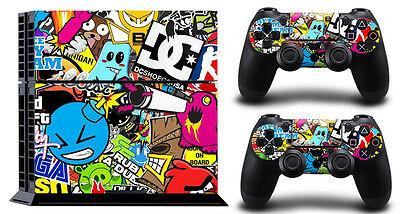 HOOLIGAN P2129 PS4 DECAL SKIN PROTECTIVE STICKER for SONY PS4 CONSOLE CONTROLLER