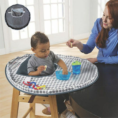 Baby Safety High Chair Seat Cover Mat Waterproof Feeding Tool Eating Place Mat