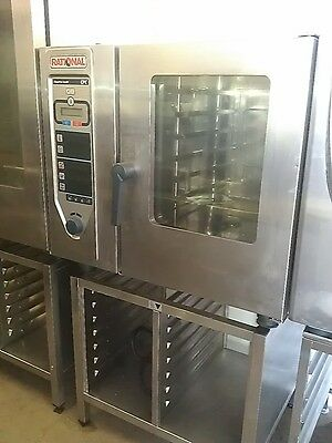 RATIONAL CPC 6 grid ELECTRIC COMBI OVEN WITH STAND