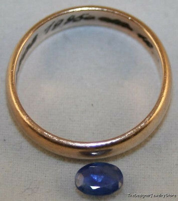 Blue Sapphire Natural Loose Gemstone 4X5Mm Oval 0.5Ct Faceted Gem Mineral Sa9C