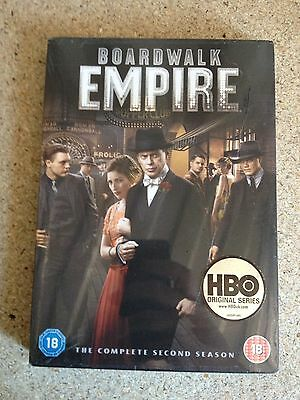 Boardwalk Empire Complete Season 2 DVD Series Brand New Sealed