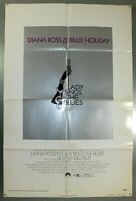 Lady Sings The Blues - Billie Holiday - Original American One Sheet Movie Poster