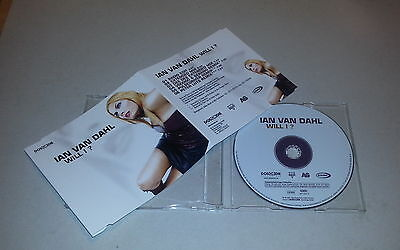 Single CD  Ian Van Dahl - Will I?  2001  6.Tracks