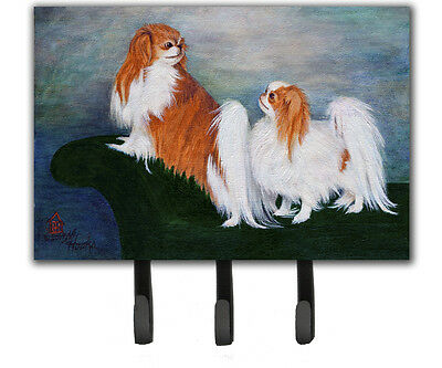 Japanese Chin Standing on my tail Leash or Key Holder