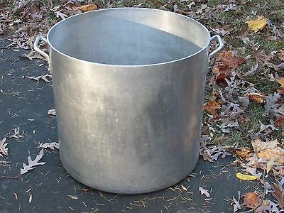 Large Industrial Size Aluminum Cooking Pot or Planter Steampunk Mid Century