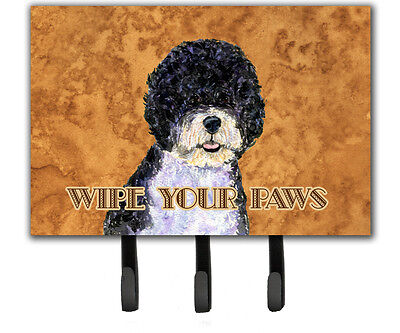 Carolines Treasures  SS4894TH68 Portuguese Water Dog Wipe your Paws Leash or Key