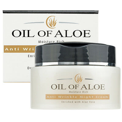 Oil Of Aloe Anti-Wrinkle Night Cream Enriched with Aloe Vera 50 ml